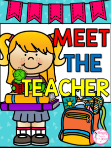 MEET THE TEACHER PACKET