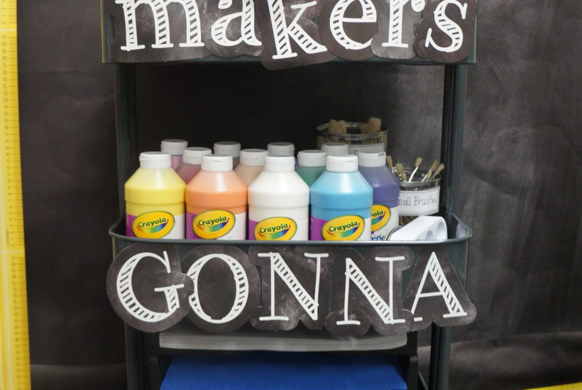 DIY Makerspace Cart for the Classroom