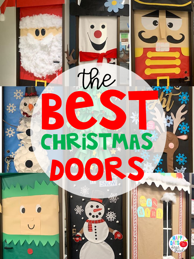 The Best Christmas Doors for the Classroom